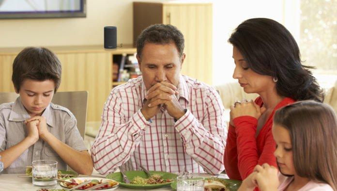 oración paz familia hogar