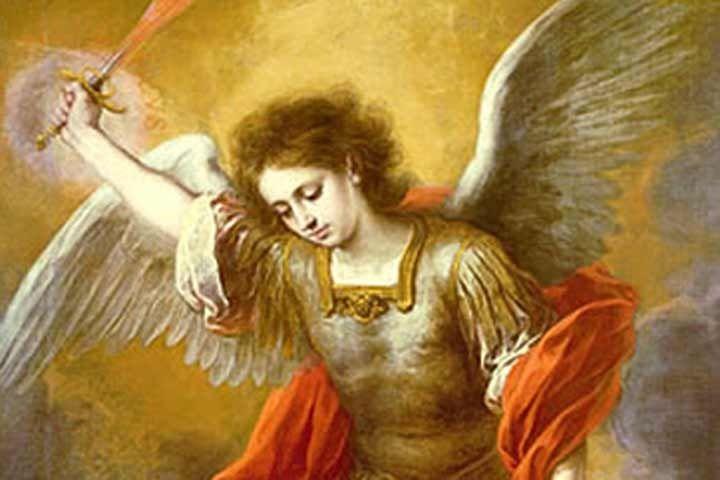 Oración San Miguel Arcángel dicha